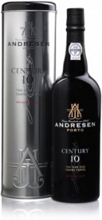 Andresen Century 10 Year Old Tawny Port in tube 750 ml