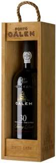 Calem 30 Years Old Tawny Porto wooden box 750 ml