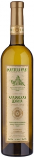 Tiflis Wine Cellar Kartuli Vazi Alazani Valley White Semi-Sweet 750 ml