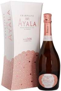 Ayala Rose №8 Brut gift box 750 ml