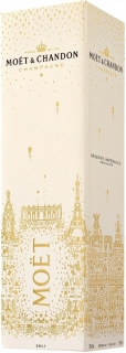 Moet & Chandon Brut Imperial gift box New Year Design 750 ml