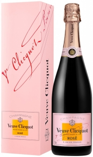 Veuve Clicquot Brut Rose with gift box 750 ml