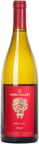 Alma Valley Pinot Blanc 2016 750 ml