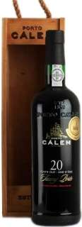 Calem 20 Years Old Tawny Porto wooden box 750 ml