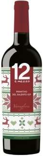 12 e Mezzo Primitivo del Salento IGP 2016 New Year Design 750 ml