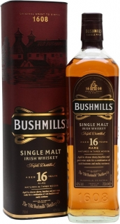 Bushmills 16 Years Old gift box 700 ml