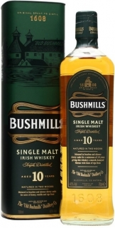 Bushmills Malt 10 Years Old with box 700 ml