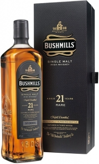 Bushmills 21 Years Old gift box 700 ml