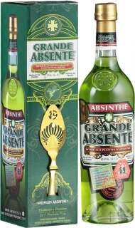 Grande Absente 69 gift box with spoon 700 ml