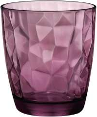 "Bormioli Rocco ""Diamond"" Water Rock Purple, Set 3 pcs"