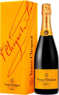 Veuve Clicquot Brut with gift box 750 ml