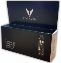 Coravin two capsules with argon